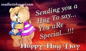 Hug Day Wishing Image 2019