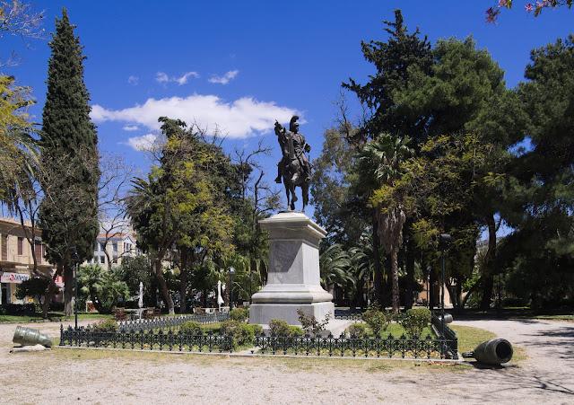 Το πάρκο Κολοκοτρώνη είναι άρρηκτα συνδεδεμένο με την πόλη του Ναυπλίου