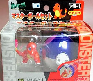 Charmander figure Tomy Master Ball Set MB-1