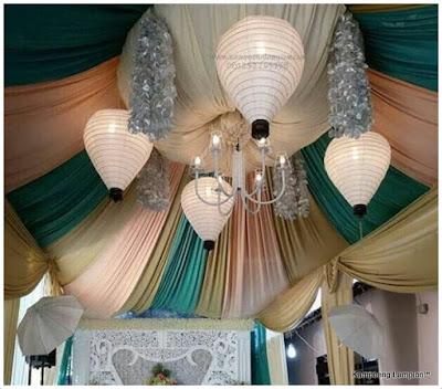 Lampion Unik Untuk Dekorasi Pernikahan