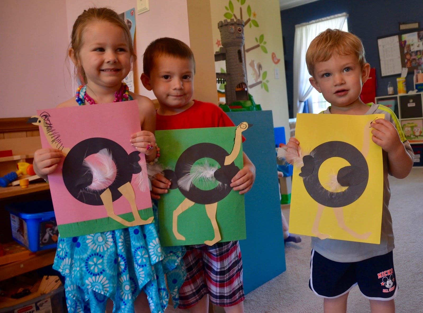 Aunt Tami S House Learning The Alphabet Letter O