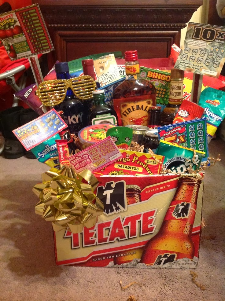 Beer Box Gift Basket from The Lady Thing