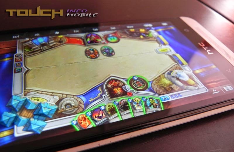 HEARTHSTONE ANDROID HTC ONE