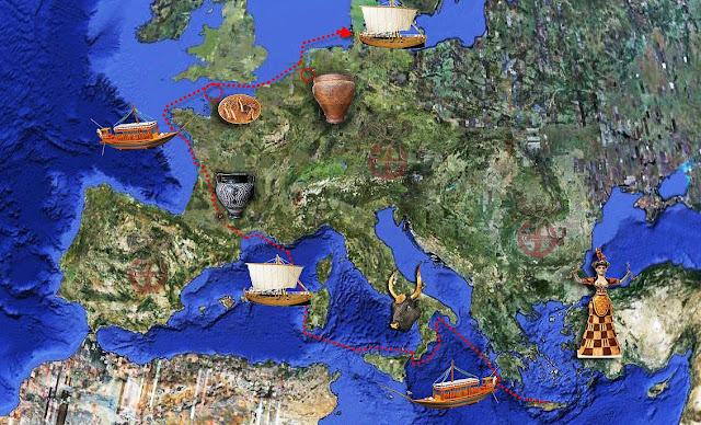 ΜΙΝΩΙΤΕΣ ΚΡΗΤΕΣ ΑΝΑΚΑΛΥΨΑΝ ΤΗΝ ΓΕΡΜΑΝΙΑ. Κρητομυκηναϊκές Διαδρομές στην Ευρώπη