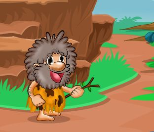 Hungry Cave Man Escape Wa…