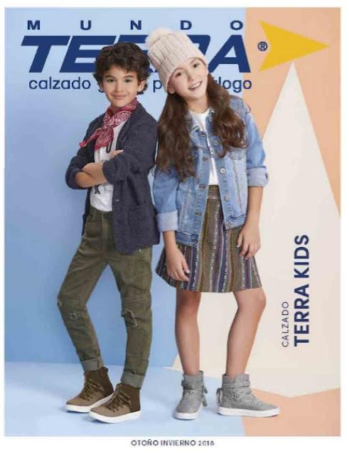 zapatos mundo terra kids Otoño Invierno 2018