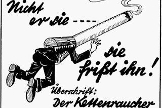 Dunia pertama kampanye anti-merokok dipimpin olehnya