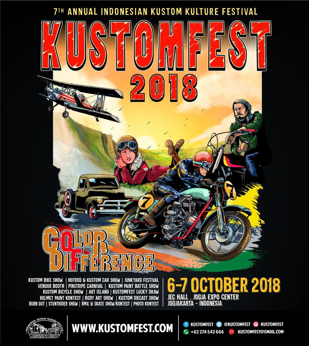 KustomFest 2018 - Color of Difference