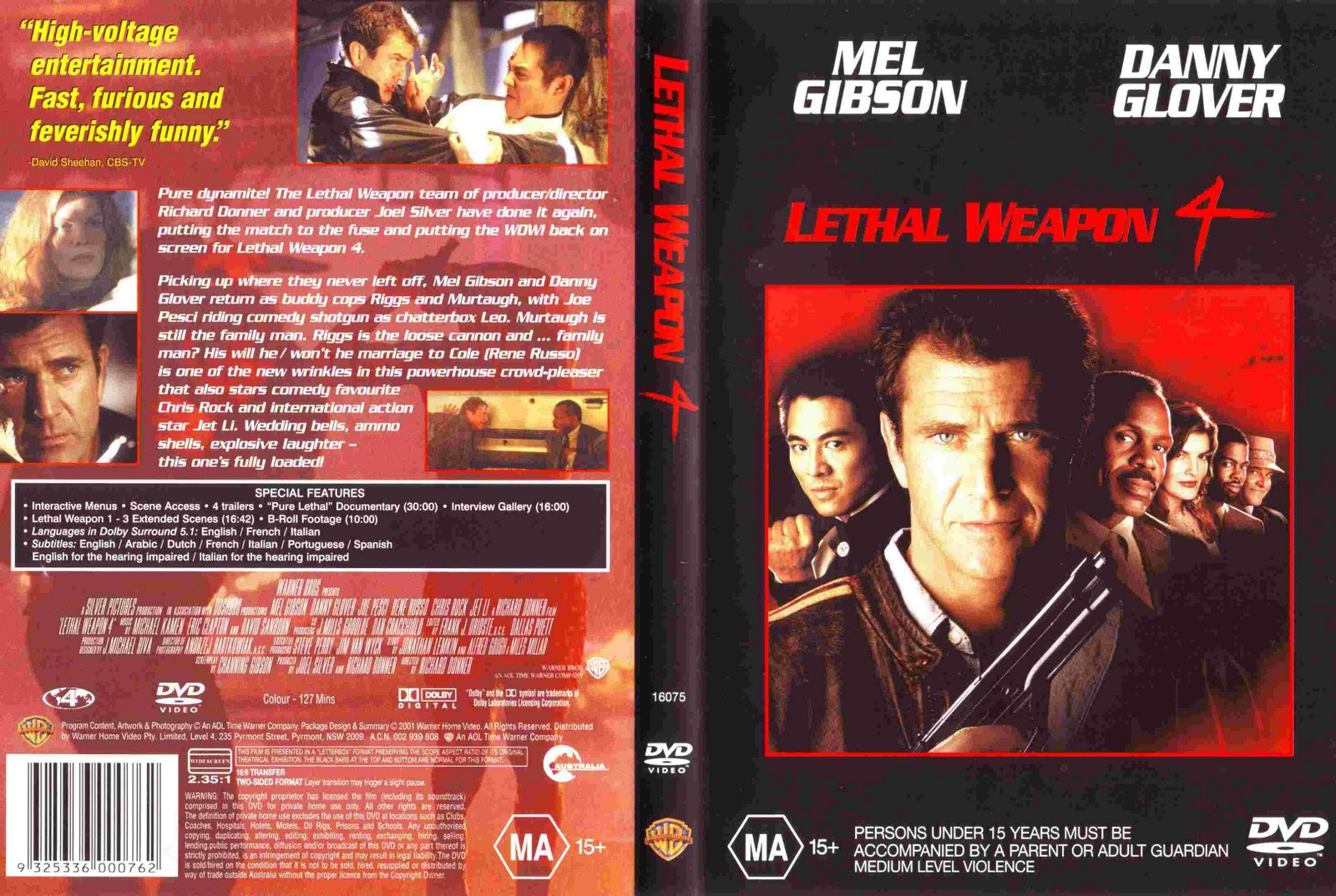 Jetli Lethal Weapon 4 1998