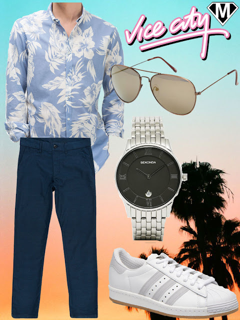 tenue homme miami street style