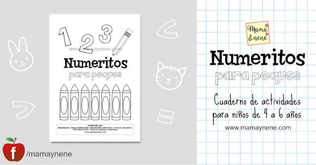 NUMEROS-NIÑOS-ACTIVIDADES-GRAFOMOTRICIDAD-MAMAYNENE-PREESCOLAR