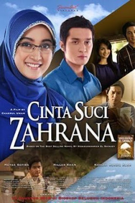 Poster Film Cinta Suci Zahrana