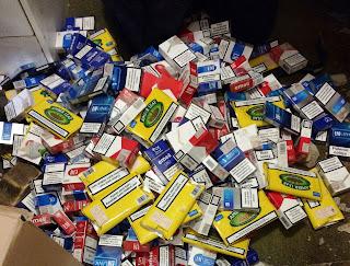 Cigarettes Seized In Raid