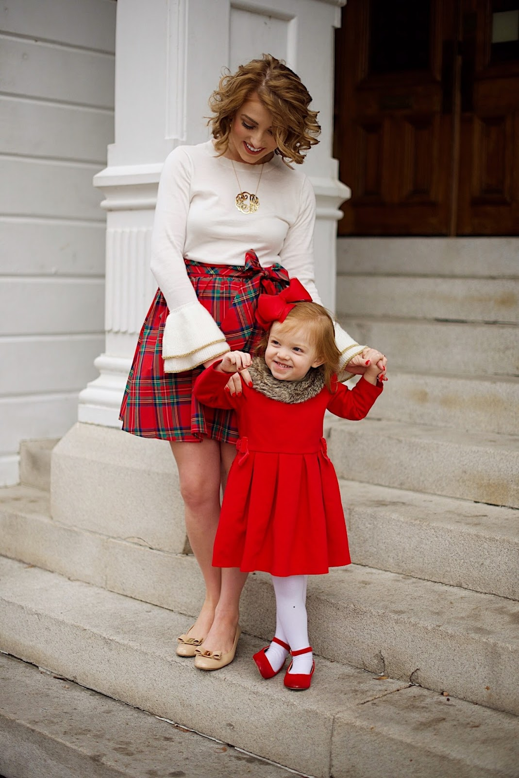 Mommy & Me Holiday Style - Something Delightful Blog