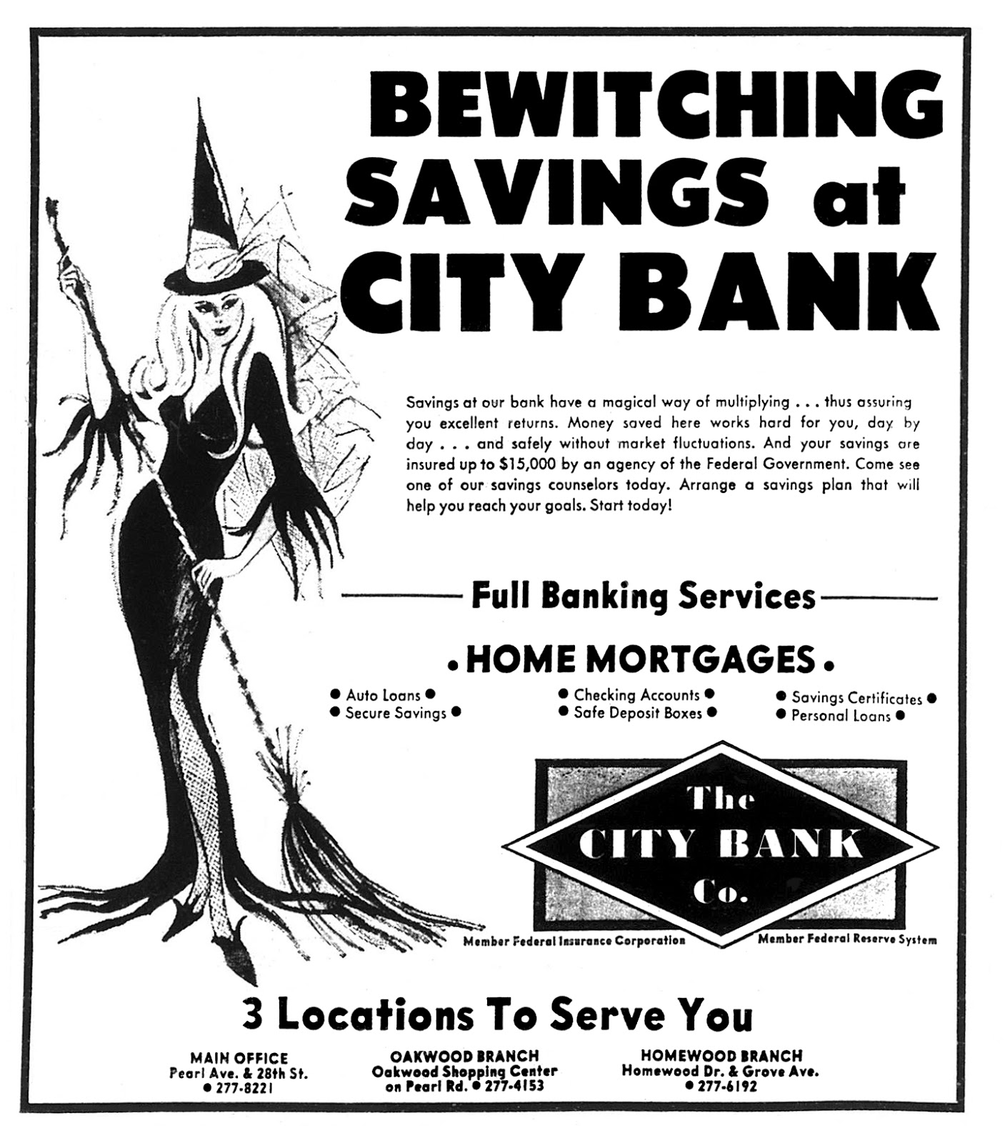 The City Bank Co. - published in the Loriane Journal - October 28, 1967