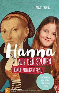 Cover von Tanja Wenz - Hanna. Auf den Spuren einer mutigen Frau