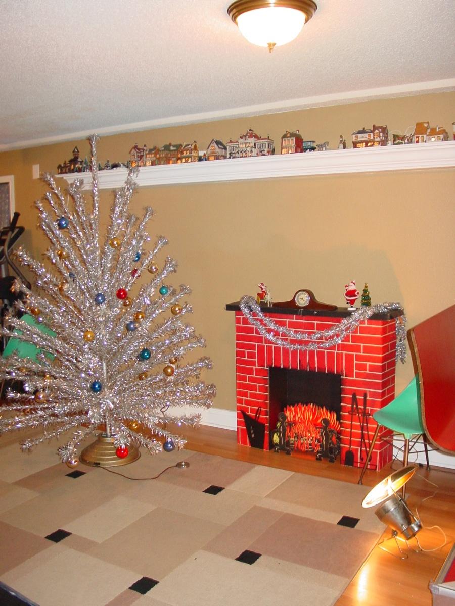 Cardboard Fireplace Light Bulb Fire