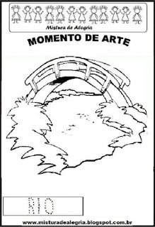 Projeto Pátria, desenho de rio