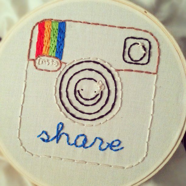 Little Bit Funky: 20 minute crafter  super basic embroidery