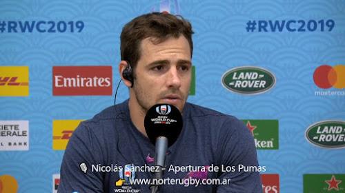 Nicolás Sánchez, apertura de Los Pumas #RWC2019
