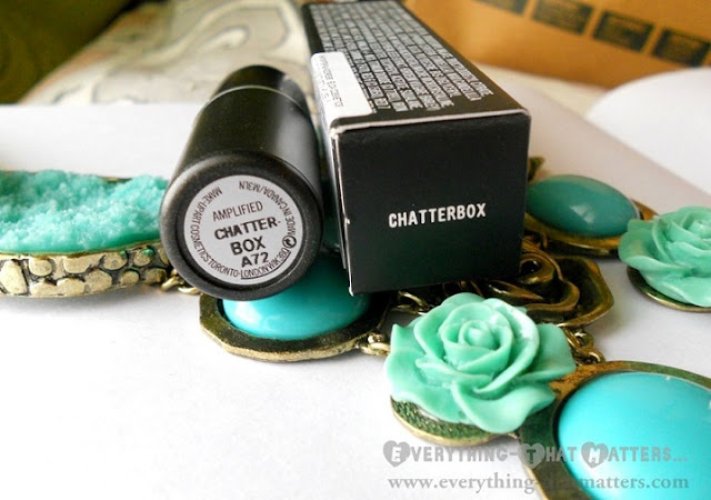 MAC+Chatterbox+lipstick+Amplified+Creme+Finish