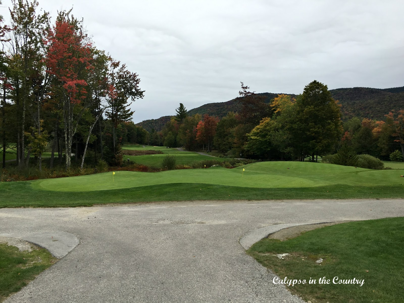 Fall Weekend in Vermont at Green Mountain National Golf Course