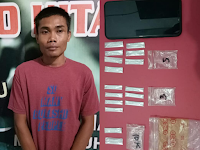 Bandar Sabu Area Tambang Batu Bara Diringkus Polisi