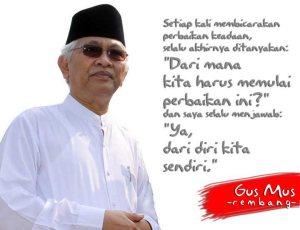My Inspiration Sajak Cinta Gus Mus