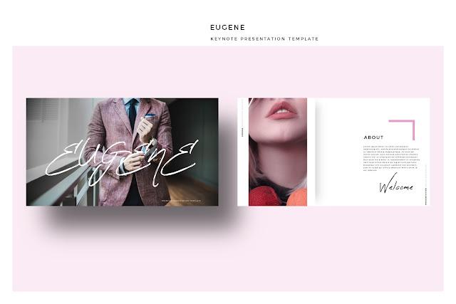 Elegant Keynote Design Template EUGENE
