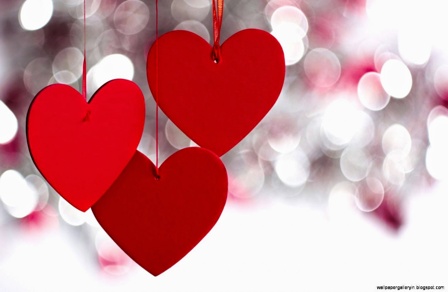 Cute Love Hearts Valentines Day Wallpaper | Wallpaper Gallery