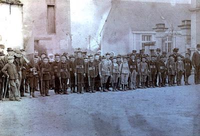 Bataillon de Naintré à la Fête du 14 juillet