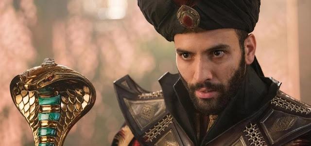 Marwan Kenzari diz estar pronto para uma sequência de 'Aladdin'