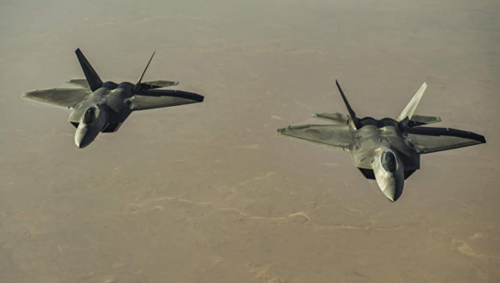 Berapa sebernarnya jumlah pesawat F-22 Raptor yang rusak akibat badai Michael