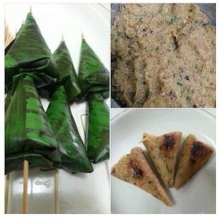 Resepi Satar Ikan Goreng Bakar