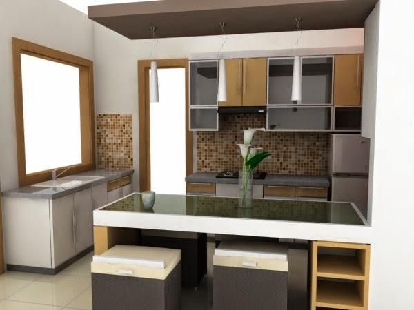 Desain dapur minimalis moderen yang nyaman