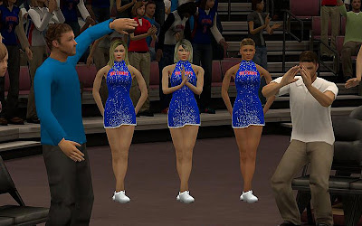 NBA 2K13 Pistons' Cheerleaders Mods
