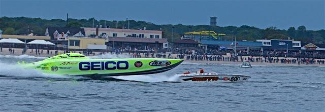 GEICO RACE BOAT