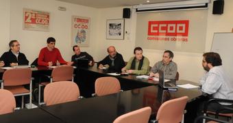 Ccoo justicia catalunya ccoo emplaza al gobierno para for Mesa funcion publica