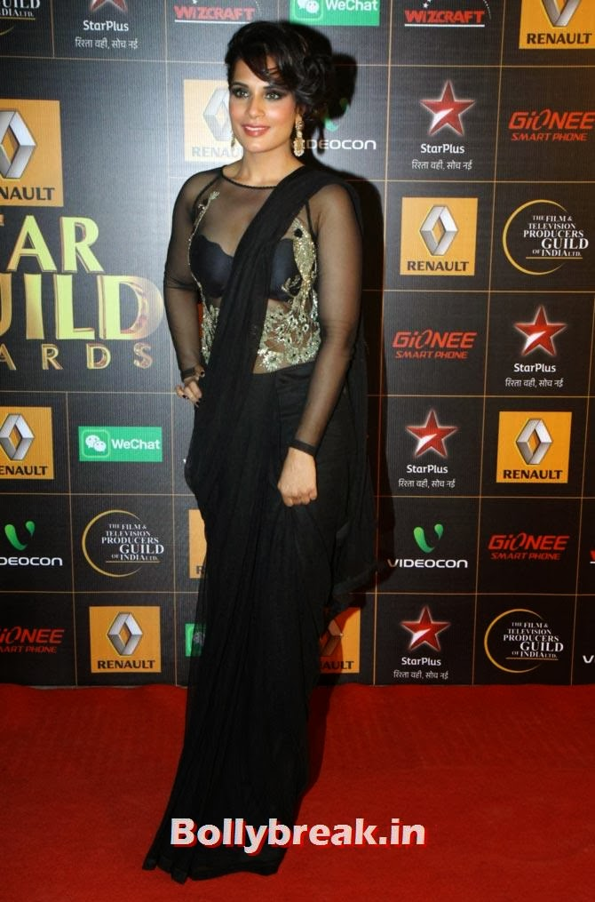Richa Chadda, Star Guild Awards 2014 Pictures