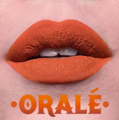 kat von d Everlasting Liquid Lipstick lip swatch orale