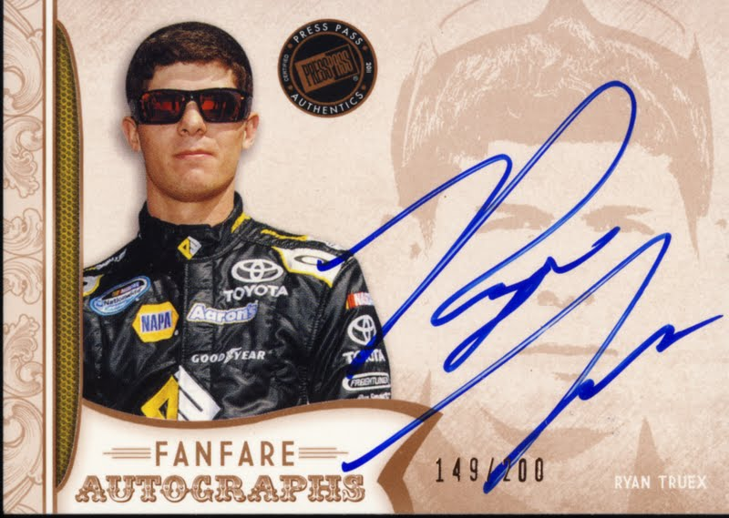 All About Sports Cards 2011 Press Pass Fanfare Nascar