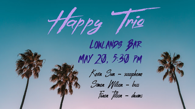 The Happy Hour Trio performs at Lowlands Bar in Gowanus on May 20, 2019