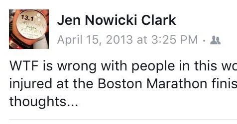 #BostonStrong....Three Years Later