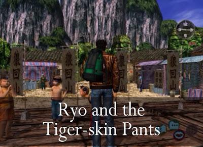 Ryo and the Tigr-skin Pants