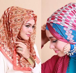 cara memakai model hijab pashmina simpel