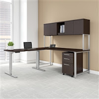 Bush 400 Series Ergonomic Furniture Set 400S189