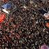 Lula en acto masivo en Río en apoyo a Dilma