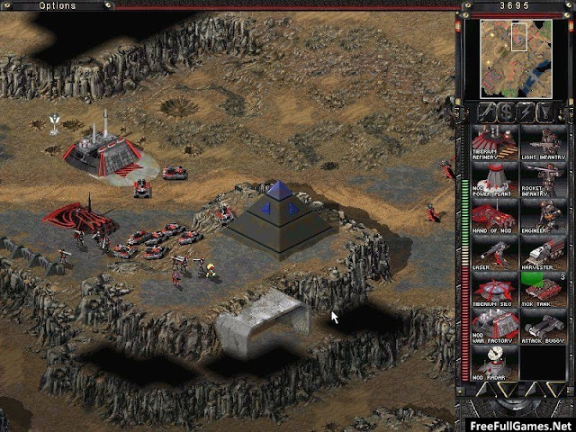 Command and Conquer Tiberian Sun PC Game Free Download Full Version