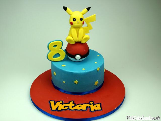 picachu bday cakes london