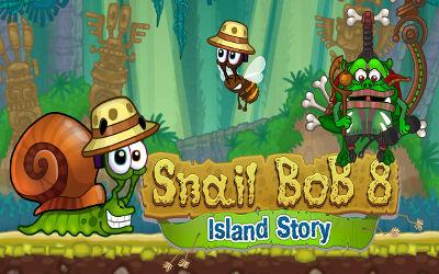 Snail Bob 8 - Jeu de Puzzle en Ligne